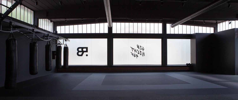 Zeigt die Freifläche im Studio